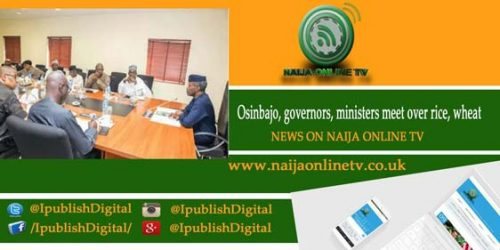 Osinbajo, governors, ministers meet over rice, wheat