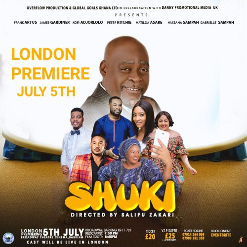 Broadway Theatre Barking to host The London premiere of SHUKI (July)