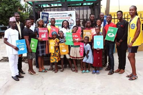 Anthony Mende Mega Lion Club And Yaliserves Presents Teen4SDG