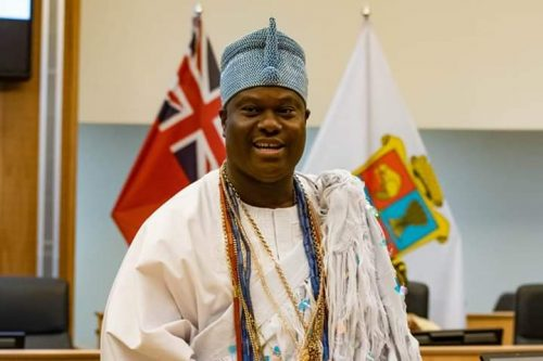 Ooni Of Ife, Urges Nigerians In Canada, To Remember Home