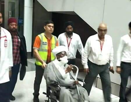 El-Zakzaky Frustrating Doctors, Prefers To Stay In 5-Star Hotel In India