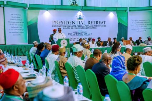 Incoming Cabinet Concludes Day 1 Of Presidential Retreat – Femi Adesina