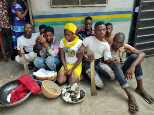 Police Apprehend 8 Suspected Cult Members During Initiation