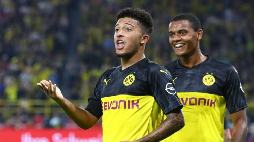 Man Utd and City to battle for Sancho